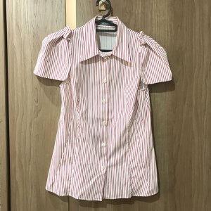 高崎のお客様からプラダのストライプシャツを買取