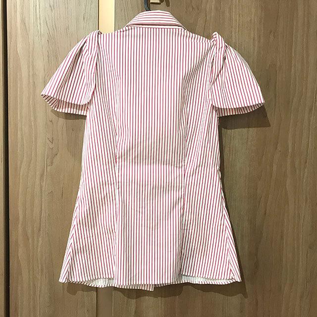 高崎のお客様からプラダのストライプシャツを買取_02