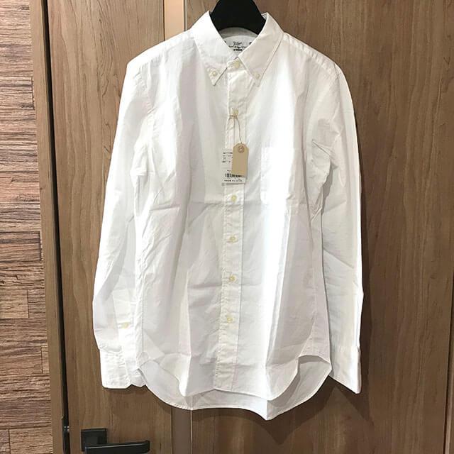 大阪市内のお客様からラグスマックレガーのT.MASON ボタンダウンシャツを買取_01