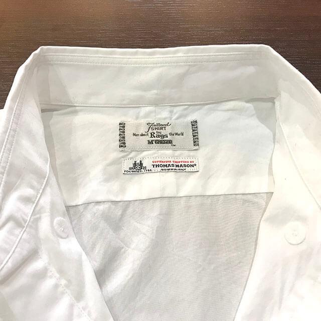 大阪市内のお客様からラグスマックレガーのT.MASON ボタンダウンシャツを買取_03