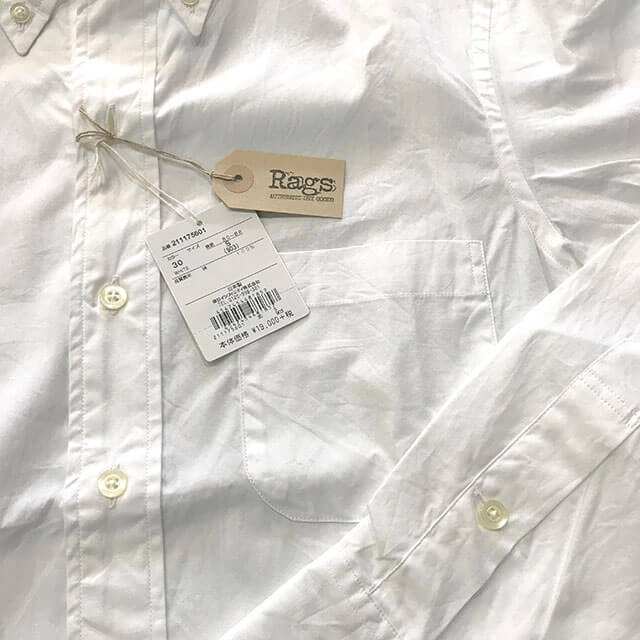 大阪市内のお客様からラグスマックレガーのT.MASON ボタンダウンシャツを買取_04