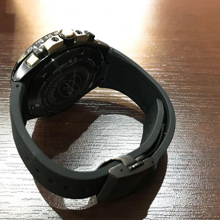谷町六丁目のお客様からセイコーの腕時計【アストロン・デュアルタイム】を買取_03