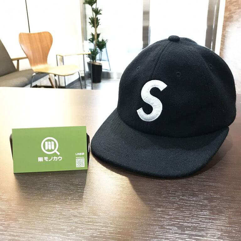 生野のお客様からシュプリームのSロゴキャップを買取_01