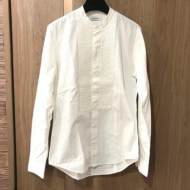 大阪市内のお客様からヴァレンティノのドレスシャツを買取_01