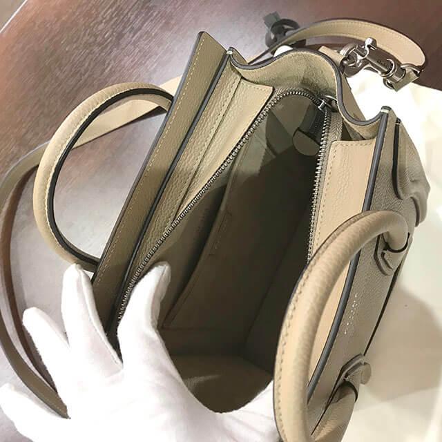 銀座のお客様からセリーヌのラゲージバッグ【ナノショッパー】を買取_04