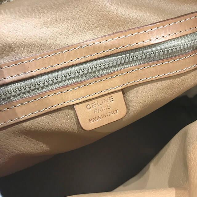 大阪市内のお客様からセリーヌのマカダム柄2wayバッグを買取_04