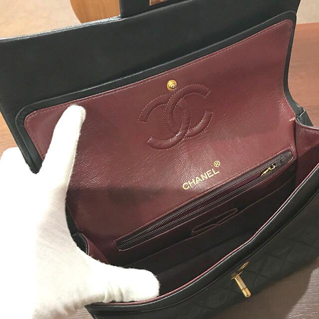 放出のお客様からシャネルのマトラッセチェーンショルダーバッグを買取_04