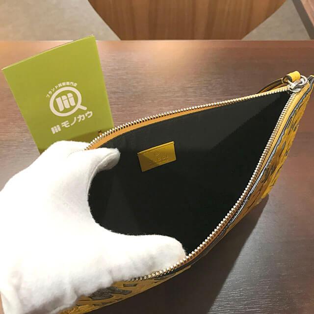堺のお客様からグッチの【アラベスク】クラッチバッグを買取_03