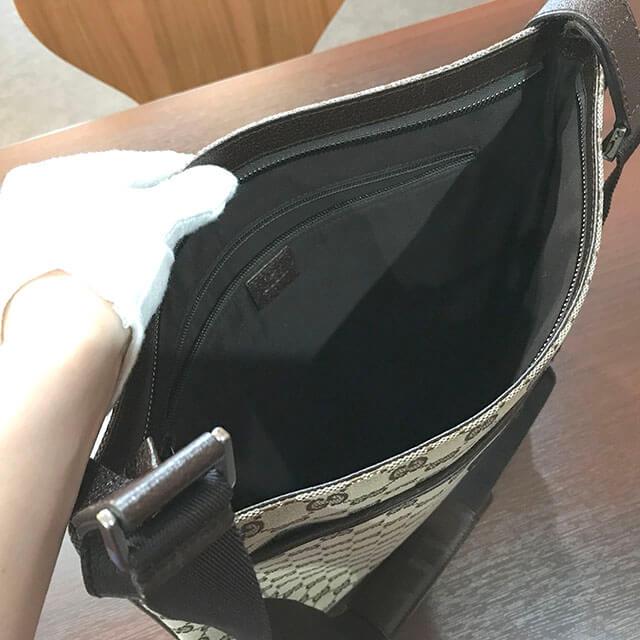 堺のお客様からグッチのGG柄 ショルダーバッグを買取_03