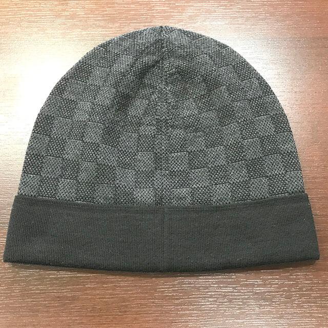 難波のお客様からヴィトンのダミエの帽子を買取_02