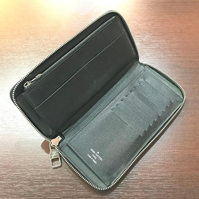モノカウ枚方店にてヴィトンのダミエグラフィットの長財布を買取_04