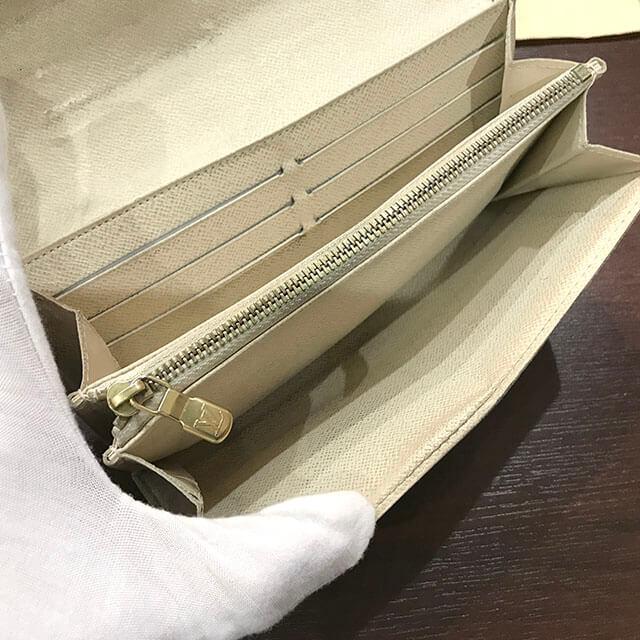 モノカウ北見店にてヴィトンの長財布【ポルトフォイユサラ】を買取_03