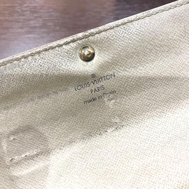モノカウ北見店にてヴィトンの長財布【ポルトフォイユサラ】を買取_04