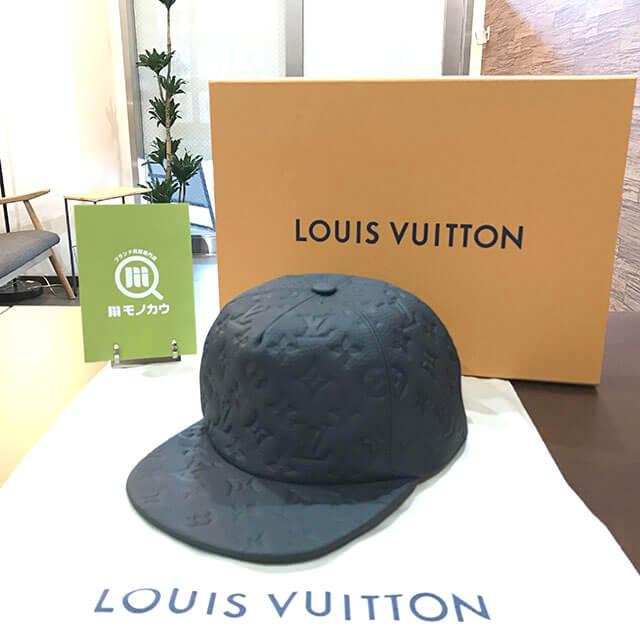 銀座のお客様からヴィトンのヴァージルアブローデザインの帽子を買取_01