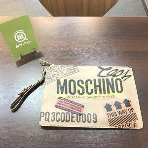 堺のお客様からモスキーノのクラッチバッグを買取