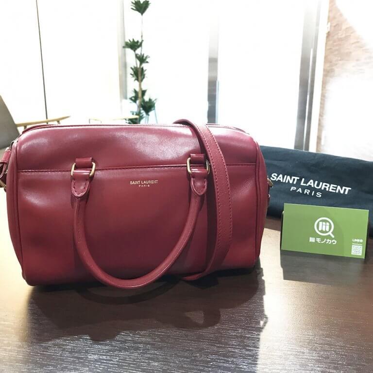 永福町のお客様からサンローランの【ベイビーダッフル】バッグを買取_01