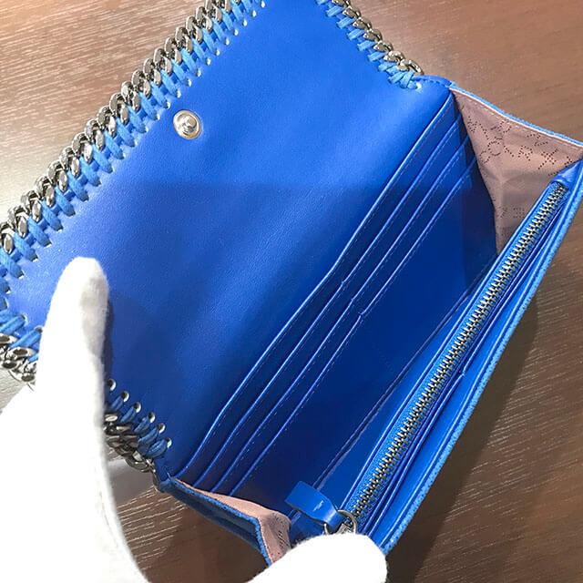 大阪市内のお客様からステラマッカートニーの【ファラベラ】長財布を買取_03