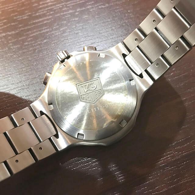 大月市のお客様からタグホイヤーの腕時計【キリウム クロノグラフ】を買取_03
