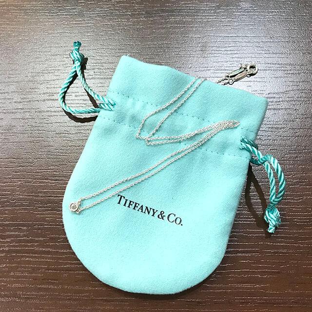 和泉のお客様からティファニーのバイザヤードネックレスを買取_02