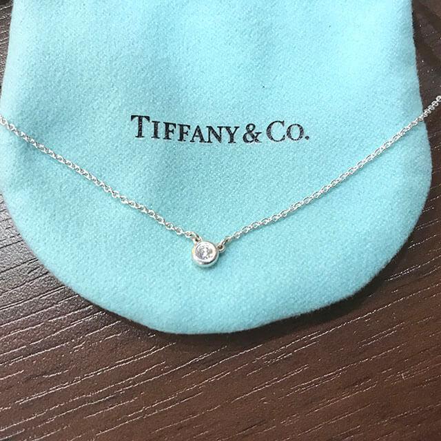 和泉のお客様からティファニーのバイザヤードネックレスを買取_03
