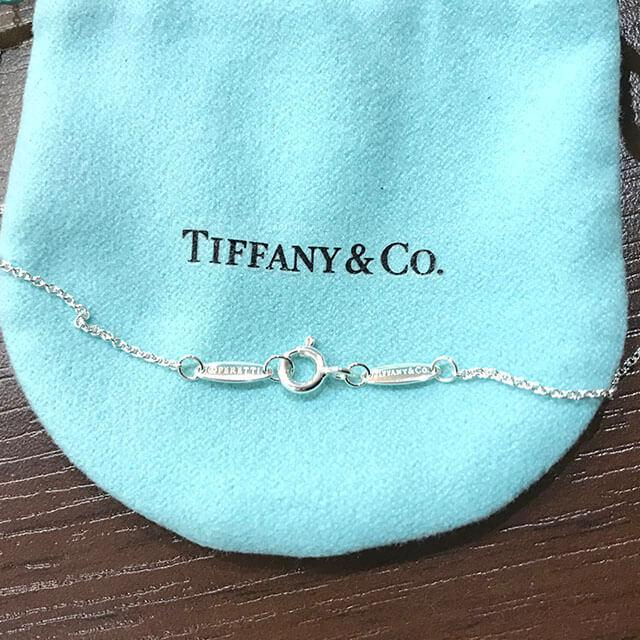 和泉のお客様からティファニーのバイザヤードネックレスを買取_04