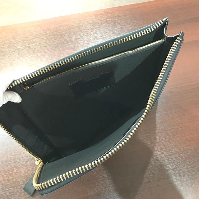 阿倍野のお客様からトムフォードのクラッチバッグを買取_04