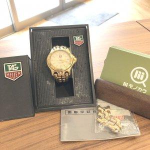 京橋のお客様からタグホイヤーの腕時計【セル】を買取