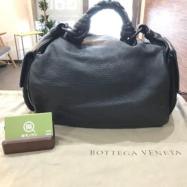 鴫野のお客様からボッテガヴェネタのハンドバッグを買取_01