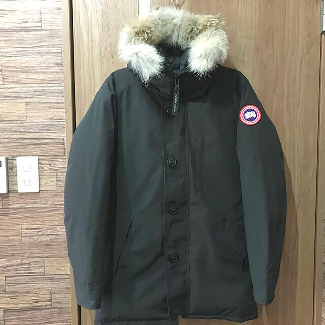 上本町のお客様からカナダグースのダウンジャケット【ジャスパー】を買取_01