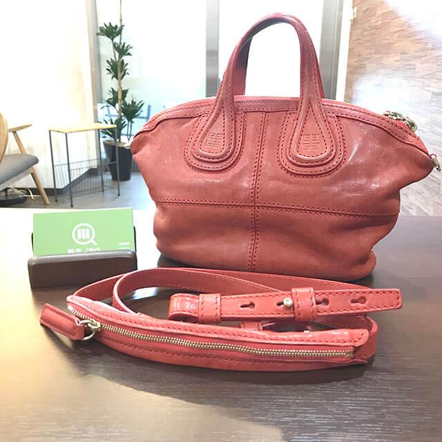 梅田のお客様からジバンシィのバッグ【ミニナイチンゲール】を買取_01
