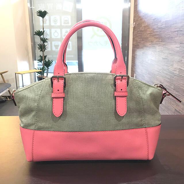 吹田のお客様からケイトスペードの2wayバッグを買取_02