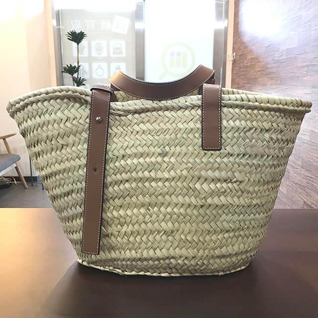 舎人のお客様からロエベのバスケットバッグを買取_02