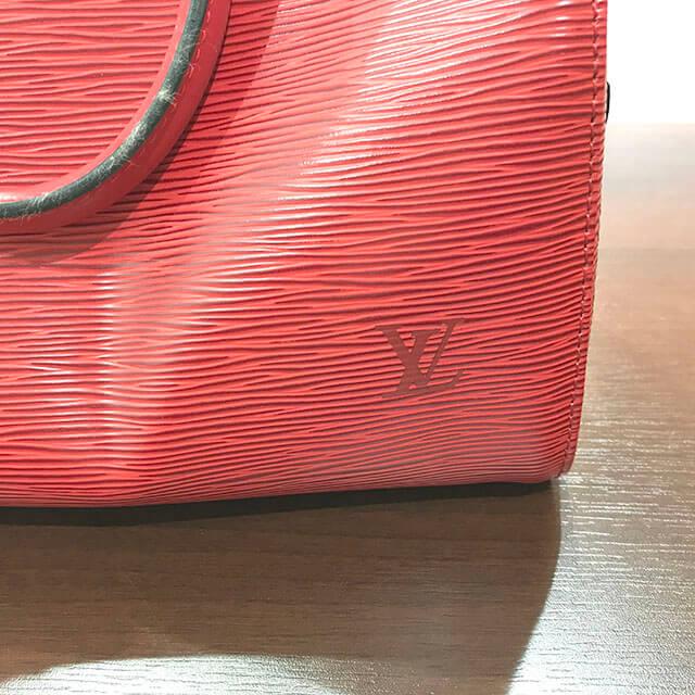 放出のお客様からヴィトンのエピのハンドバッグ【スピーディ25】を買取_04