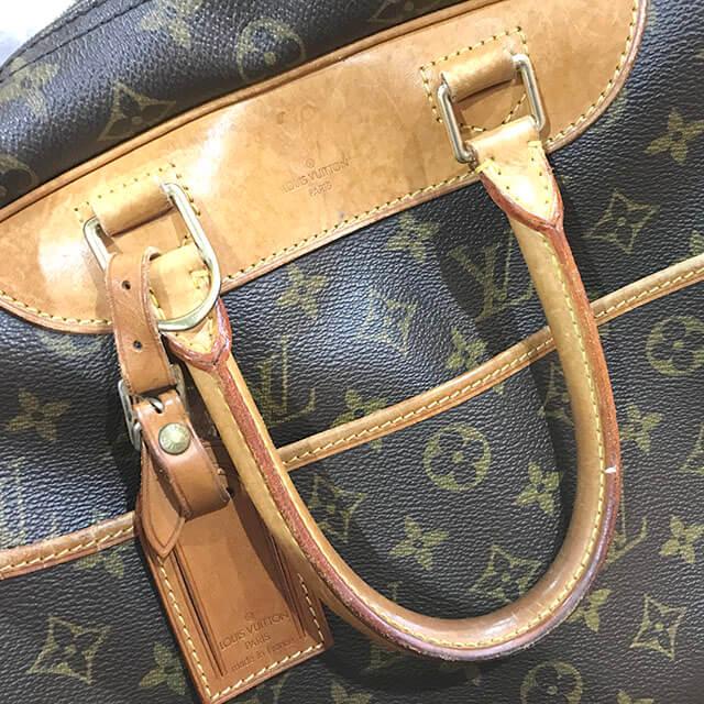 放出のお客様からヴィトンのハンドバッグ【ドーヴィル】を買取_04