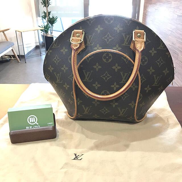 放出のお客様からヴィトンのバッグ【エリプスPM】を買取_01