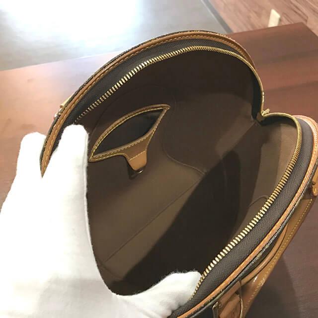 放出のお客様からヴィトンのバッグ【エリプスPM】を買取_03