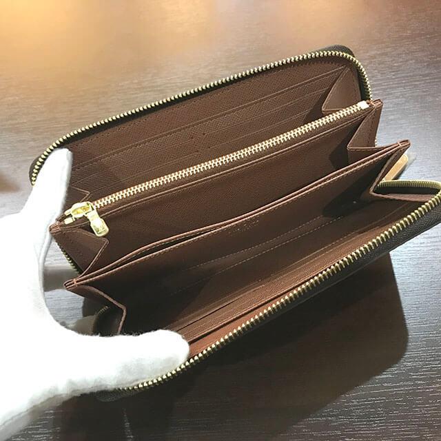 桃谷のお客様からヴィトンのモノグラムの長財布【ジッピーウォレット】を買取_03