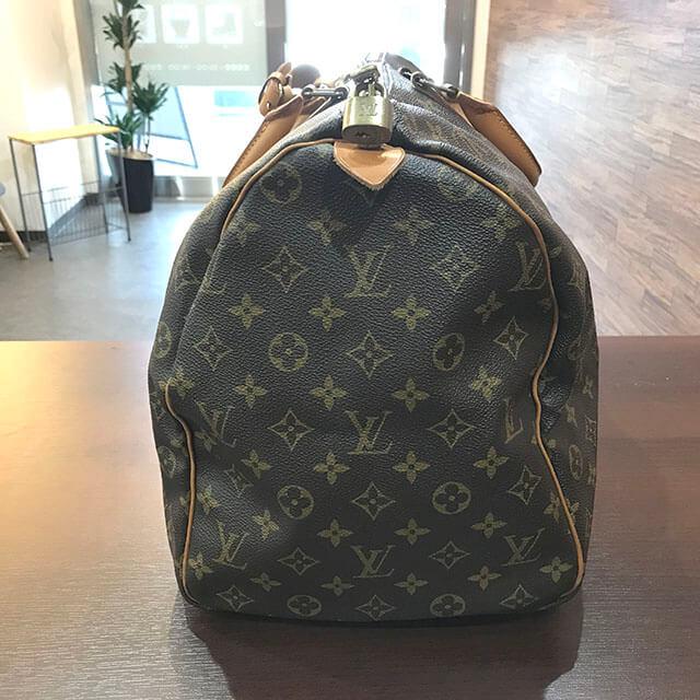 放出のお客様からヴィトンのボストンバッグ【キーポル50】を買取_02