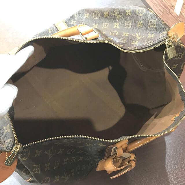 放出のお客様からヴィトンのボストンバッグ【キーポル50】を買取_03