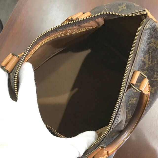 大阪鶴見のお客様からヴィトンのハンドバッグ【スピーディ30】を買取_03