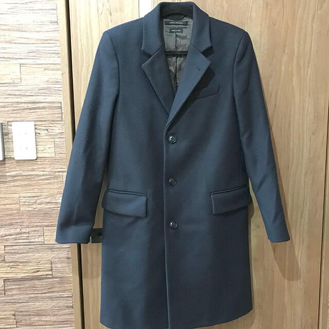 梅田のお客様からマークジェイコブスのコートを買取_01