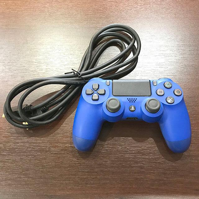 川西のお客様からPlayStation4 本体+コントローラーを買取_03