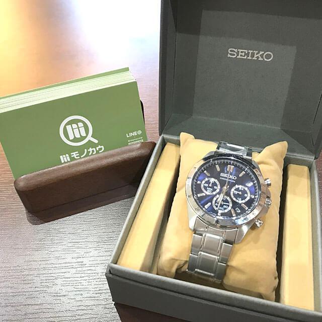 モノカウ玉造店にてセイコーの腕時計【スピリット クロノグラフ】を買取_01
