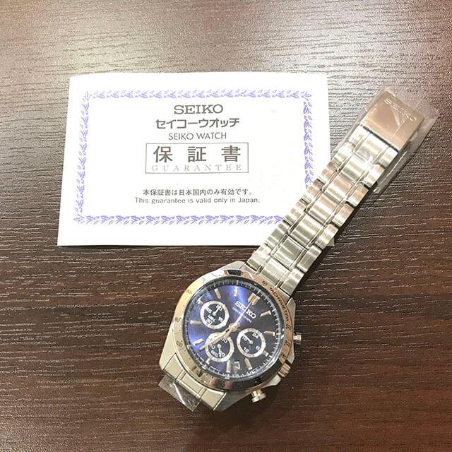 モノカウ玉造店にてセイコーの腕時計【スピリット クロノグラフ】を買取_03