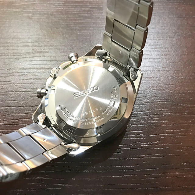 モノカウ玉造店にてセイコーの腕時計【スピリット クロノグラフ】を買取_04