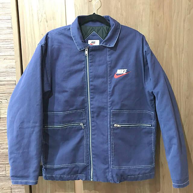 門真のお客様からSupreme×NIKE 18AW 18FW Double Zip Quilted Work Jacketを買取_01