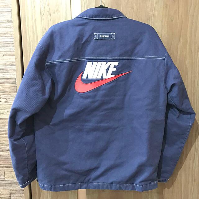 門真のお客様からSupreme×NIKE 18AW 18FW Double Zip Quilted Work Jacketを買取_02