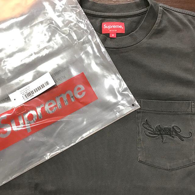原宿のお客様からSupremeの【19SS Overdyed Pocket Tee】Tシャツを買取_03