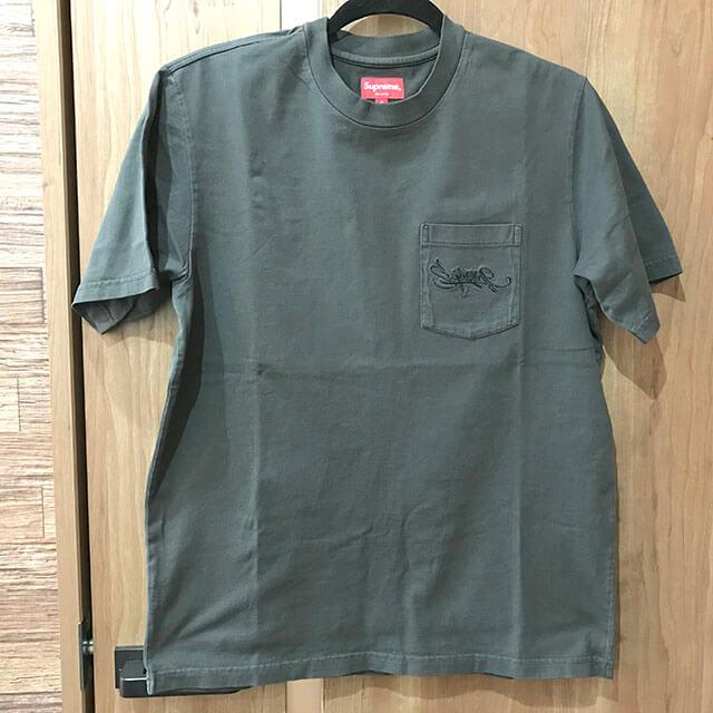 原宿のお客様からSupremeの【19SS Overdyed Pocket Tee】Tシャツを買取_01