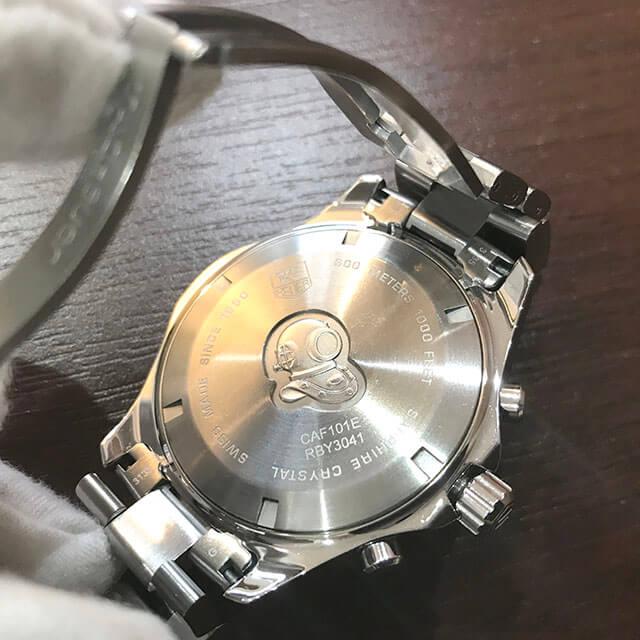モノカウ北見店にてタグホイヤーの腕時計【アクアレーサー グランドデイト】を買取_04